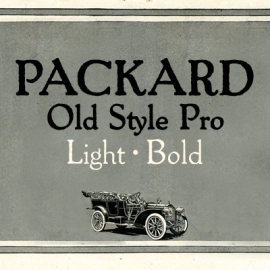 Packard Old Style Pro