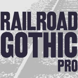 Railroad Gothic Pro