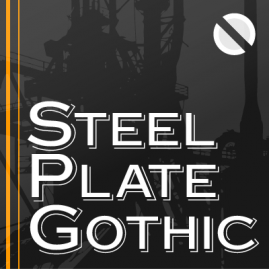 Steelplate Gothic Pro